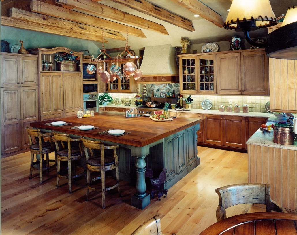 Kitchen cabinet styles country tampa flooring company - Country style kitchen cabinets ...