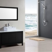 ubath cabinentry and bath with vanity