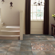 Entryway flooring design