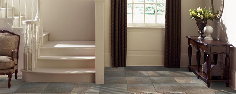 Entryway flooring design