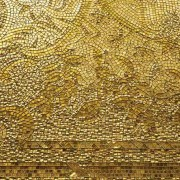 Sicis Gold tile glass with 24-karat gold leaf