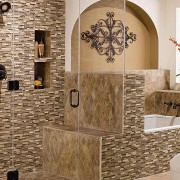 backsplash tile in bathroom