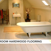 Bathroom Hardwood Flooring