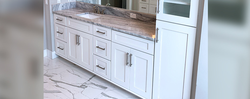 Match Your Bathroom Vanity To Bathroom Tile Go Mobile Flooring